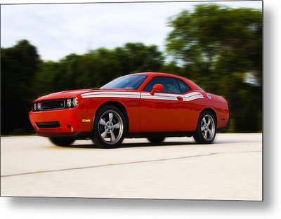 Dodge Challenger Metal Print by Bill Cannon
