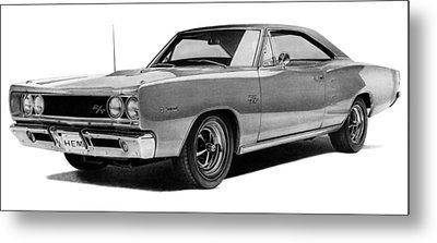 Dodge Coronet Metal Print by Lyle Brown