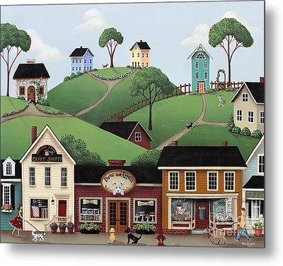 Dog Days Of Summer Metal Print by Catherine Holman