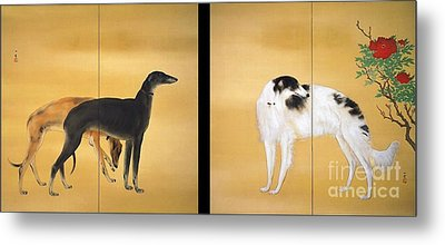 Dogs From Europe Metal Print by Pg Reproductions
