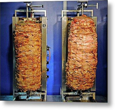 Doner Kebabs Metal Print by Bildagentur-online/mcphoto-schulz