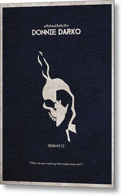 Donnie Darko Metal Print by Ayse Deniz