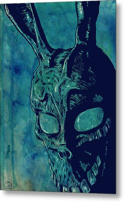 Donnie Darko Metal Print by Giuseppe Cristiano