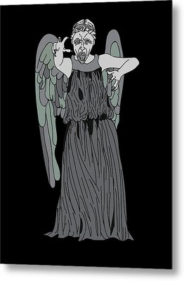 Dont Blink Metal Print by Jera Sky