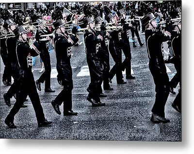 Don't Let The Parade Pass You By Metal Print by Bill Cannon