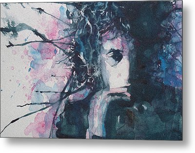 Don't Think Twice It's Alright Metal Print by Paul Lovering