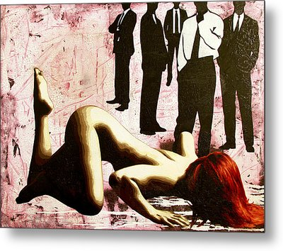 Don't You Know What You Are? Metal Print by Bobby Zeik