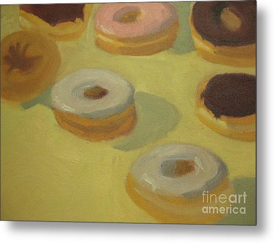 Donuts Metal Print by Sharon Hollander