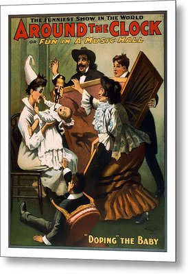 Doping The Baby Metal Print by Terry Reynoldson