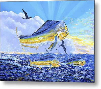 Dorado Sunrise Off0098 Metal Print by Carey Chen