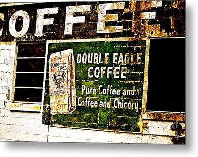 Double Eagle Coffee Metal Print by Scott Pellegrin