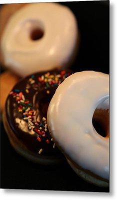Doughnut Roll Metal Print by Karen Wiles