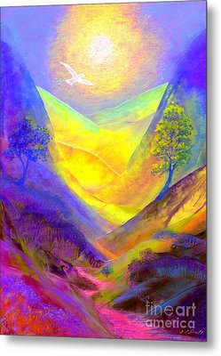 Dove Valley Metal Print by Jane Small