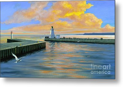 Dover Evening Metal Print by Michael Swanson