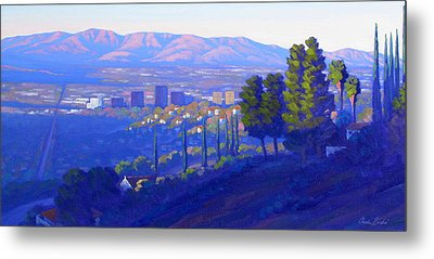 Down In The Valley Metal Print by Elena Roche