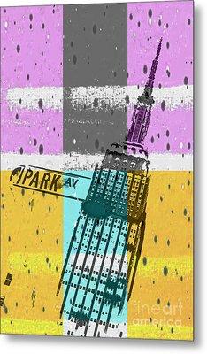 Down Park Av Metal Print by Az Jackson