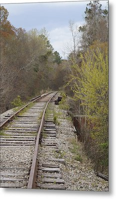 Down The Line Metal Print by MM Anderson