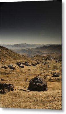 Downhill Metal Print by Aaron S Bedell