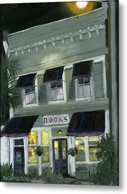 Downtown Books 11 Metal Print by Susan Richardson