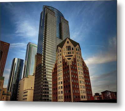 Downtown Los Angeles 002 Metal Print by Lance Vaughn