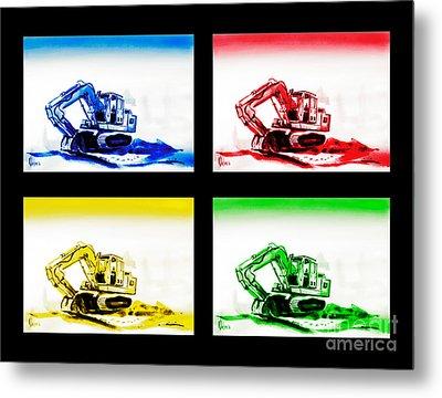 Dozer Mania Iv Metal Print by Kip DeVore