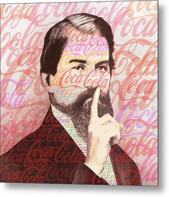 Dr. John Pemberton Inventor Of Coca-cola Metal Print by Tony Rubino