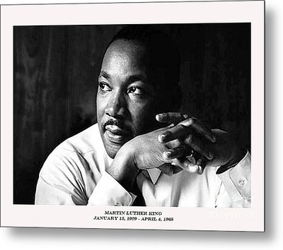 Dr. Martin Luther King Jr. Metal Print by David Bearden
