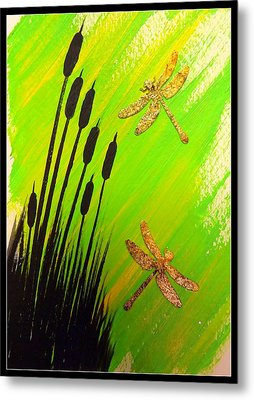 Dragonfly Dreams Metal Print by Darren Robinson