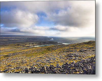 Dramatic Landscape Of The Aran Islands Metal Print by Mark Tisdale