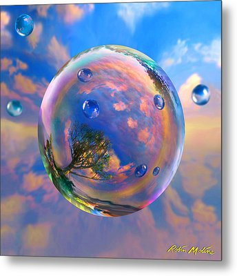 Dream Bubble Metal Print by Robin Moline