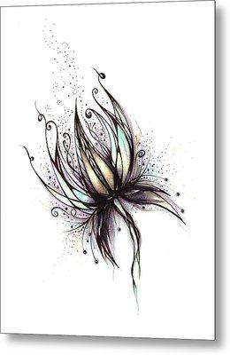 Dream Flower Metal Print by Andrea Carroll