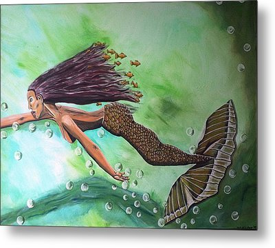Dream Metal Print by Mamu Art