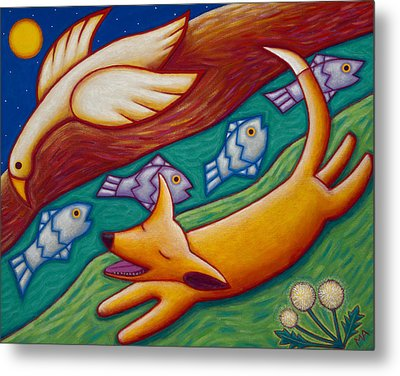 Dream Runner Metal Print by Mary Anne Nagy