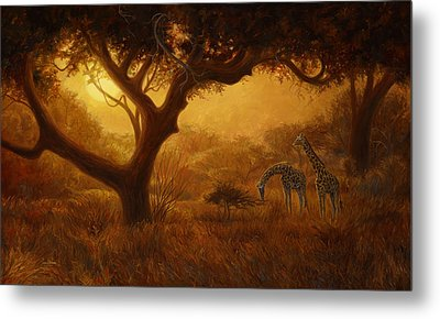 Dreamland Metal Print by Lucie Bilodeau