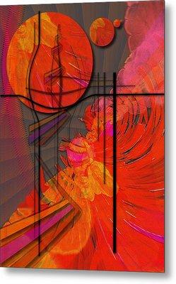 Dreamscape 06 - Tangerine Dream Metal Print by Mimulux patricia no
