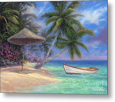 Drift Away Metal Print by Chuck Pinson