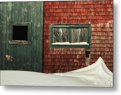 Drifted In Metal Print by Susan Capuano