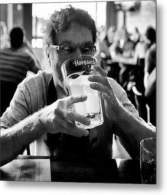 Drink Up Metal Print by Trever Miller