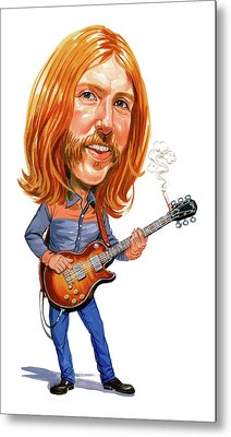 Duane Allman Metal Print by Art