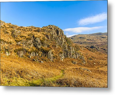 Duddon Valley Lake District Metal Print by Trevor Kersley