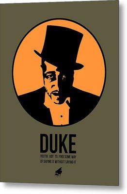 Dude Poster 3 Metal Print by Naxart Studio
