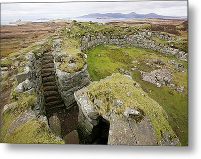 Dun Beag Broch On The Isle Of Skye Metal Print by Ashley Cooper
