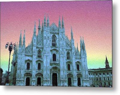 Duomo Di Milano Metal Print by Jeff Kolker