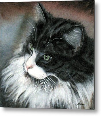 Dusty  Metal Print by LaVonne Hand