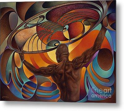 Dynamic Scorpio Metal Print by Ricardo Chavez-Mendez