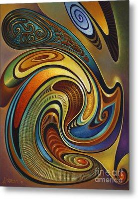 Dynamic Series #19 Metal Print by Ricardo Chavez-Mendez
