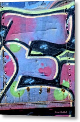 E Is For Equality Metal Print by Donna Blackhall