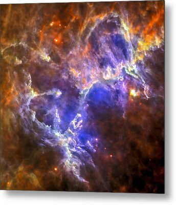 Eagle Nebula Metal Print by Adam Romanowicz