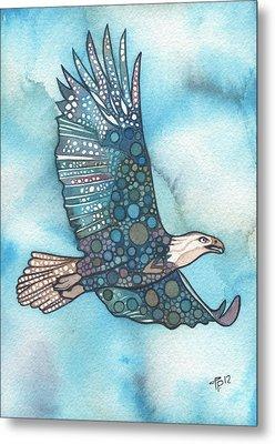 Eagle Metal Print by Tamara Phillips