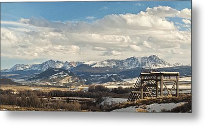 Eagles Nest Metal Print by Daniel Hebard